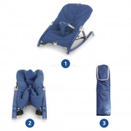 CHICCO bouncer Pocket Relax Blue 06079825800000