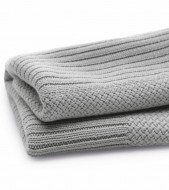 BUGABOO vežimėlio pledukas soft wool Grey Melange