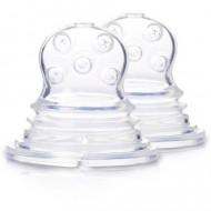 KIDSME silikoninis maitintuvo dėklas 2 vnt. 160365 160365