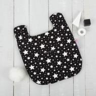 CUDDLECO vežimėlio įdėklas/paminkštinimas Black&White Stars Mini CC844050 CC844050