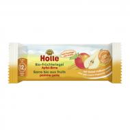 HOLLE ekologiškas batonėlis su obuoliais ir kriaušėmis 12m+ 133212 133212