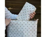 MY BAG'S Kūdikio reikmenų krepšys vežimėliui Lucky Baby Gold nbsslkbgol