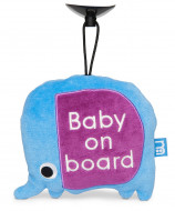 MOTHERCARE limpantis žaisliukas Baby on board Safari Elephant 820751 820751