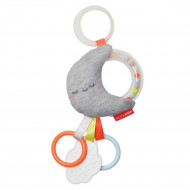 SKIP HOP Silver Lining Cloud Rattle Moon Stroller Toy, 307154 307154