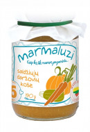 MARMALUZI saldžiųjų daržovių košė 190g 6m+ 4779034140216