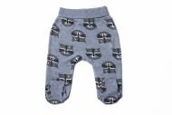 CAN GO pants with feet racoon 075 50 cm KBSS-075-50