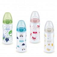 NUK buteliukas su silikoniniu žinduku M 300ml 0-6m SK26 SK26