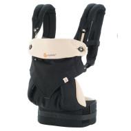 ERGOBABY nešioklė 360 Black/Camel BC360BLKCAM1NL BC360BLKCAM1NL