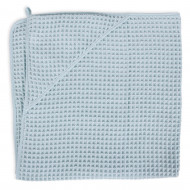 CEBA rankšluostis 100x100cm Waffle Line Mist Blue W-815-303-160