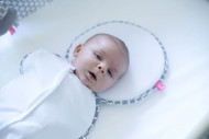 MOTHERHOOD ergonomic head rest for newborns Classics Grey 065/138 065/138
