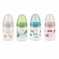 NUK buteliukas su silikoniniu žinduku M 150ml 0-6m SK23 SK23