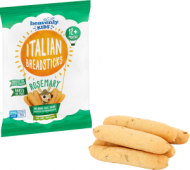 HEAVENLY itališkos duonos lazdelės su rozmarinais vaikams 12m+ 30g IB2