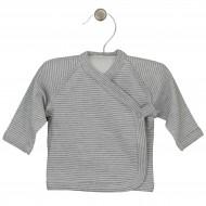 LORITA marškinėliai Stripes grey 38 cm. 1412