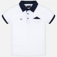 MAYORAL Polo marškinėliai tr.r. White 7A 6136-78 6136-78 8