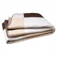 JOLLEIN blanket Block Brown 75x100 cm 514-511-64733
