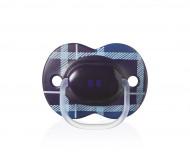TOMMEE TIPPEE čiulptukas silikoninis London Boy 6-18m, 43341255 43341255