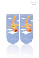 STEVEN Socks giraffe blue 138-030 14-16 138-030