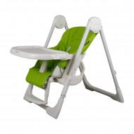 MILLI DINNER maitinimo kėdutė Green MILLIdinnerGreen