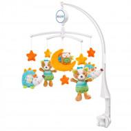BABYFEHN muzikinė karuselė su gyvūneliais, 71214 71214