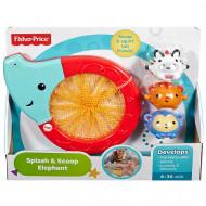 FISHER PRICE vonios žaislas drambliukas su sieteliu, CMY23