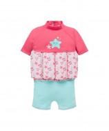 MOTHERCARE maudymosi kostiumėlis su trumpomis rankovėmis, 1-2 metai, rožinis, 916733 916733