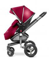 MOTHERCARE vežimėlio medžiaginės dalies rankinys Silver Cross Surf 2 Vintage red 202626