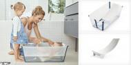 STOKKE sulankstoma vonelė su gultuku Flexibath White Aqua 531505 531505