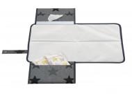 DOOKY pervystymo kilimėlis 3-in-1 Grey Stars 126466 126466