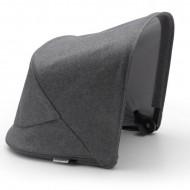 BUGABOO vežimėlio stogelis Fox2/Lynx GREY MELANGE 230411GM03 230411GM03