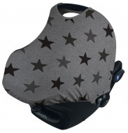 DOOKY hoody Grey Stars 126366 126366