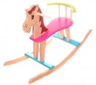 Arkliukas-sūpuoklė medinis