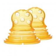 KIDSME silikoninis maitintuvo dėklas 2 vnt. 160364 160364