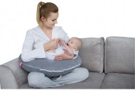 MOTHERHOOD nursing support pillow Classics Grey 104/138 104/138