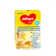 MILUPA grudų košė su dribsniais, pienu ir vaisiais 10m+ 250 g V29E750