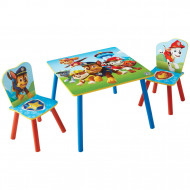 Table and 2 Chairs Paw Patrol, 527PTR01E 527PTR01E