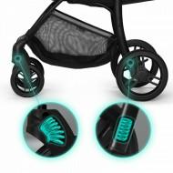 KINDERKRAFT vežimėlis CRUISER Grey KKWCRUIGRY0000