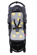 MOTHERHOOD vežimėlio įdėklas Mustard Splashes 070/153 070/153