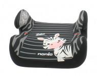 NANIA automobilinė kėdutė - boosteris Topo Comfort 2/3 Zebre 547175 547175