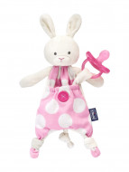 CHICCO čiulptuko laikiklis-migdukas, rabbit, 0 mėn+ 8058664072415