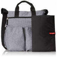 SKIP HOP nursery bag DUO signature Grey melagne 200301