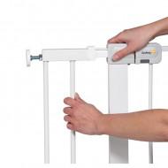 SAFETY 1ST apsauginės tvorelės pratęsimas Easy Close Metal plus White 14 cm, 24204310 24294310