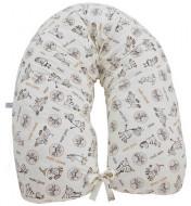 MILLI žindymo ir miego pagalvė nėščiosioms Comfort 165cm F04 Zebra Fikuszka F04