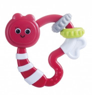 CANPOL BABIES rattle with teether Raccoon/ Owl/ Butterfly, 56/141  56/141