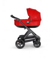 STOKKE  vežimėlio rėmas su sportine dalimi Trailz Black / Black - Red 562205