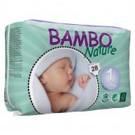 BAMBO sauskelnės NB 2-4kg 28 vnt. 310131