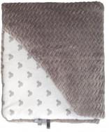 MILLI blanket Grey 80x80 cm FINKOC18**2