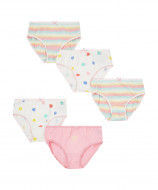 MOTHERCARE briefs girl 5pack SE963 218347