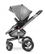 MOTHERCARE stogelio ir kojų užkloto vežimėliui rinkinys Surf Graphite/Silver 202717 GD229