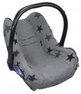 DOOKY seat cover Grey Stars 126816 126816