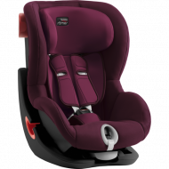 BRITAX automobilinė kėdutė KING II BLACK SERIES Burgundy Red ZR SB 2000030812 2000030812